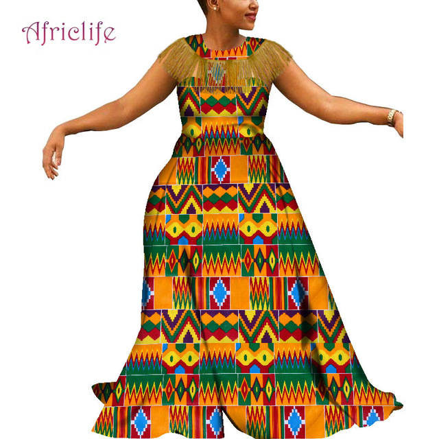 Plus Size Ethnic Clothing African Kitenge Dress Designs Casual Dresses For Women Wy5087 Africa Clothing Aliexpress