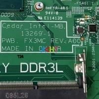 5005u מחברת מחשב נייד CN-0DVF8F 0DVF8F DVF8F w I3-5005U CPU 13,269-1 DDR3L עבור Dell Inspiron 3443 3543 מחברת מחשב נייד PC Mainboard Motherboard (5)