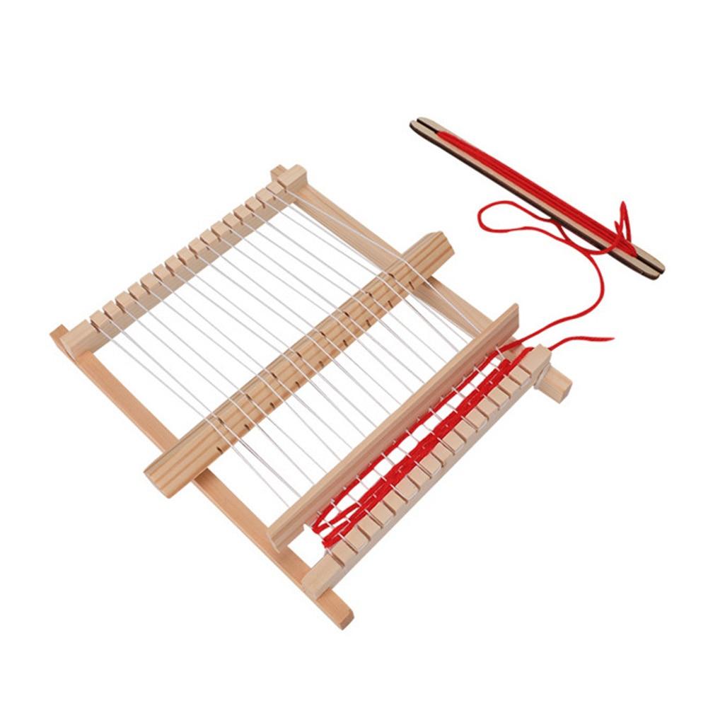 Scientific Product Model Manual DIY Homemade Loom Hand Knitting Machine Children Educational Toy DNJ998