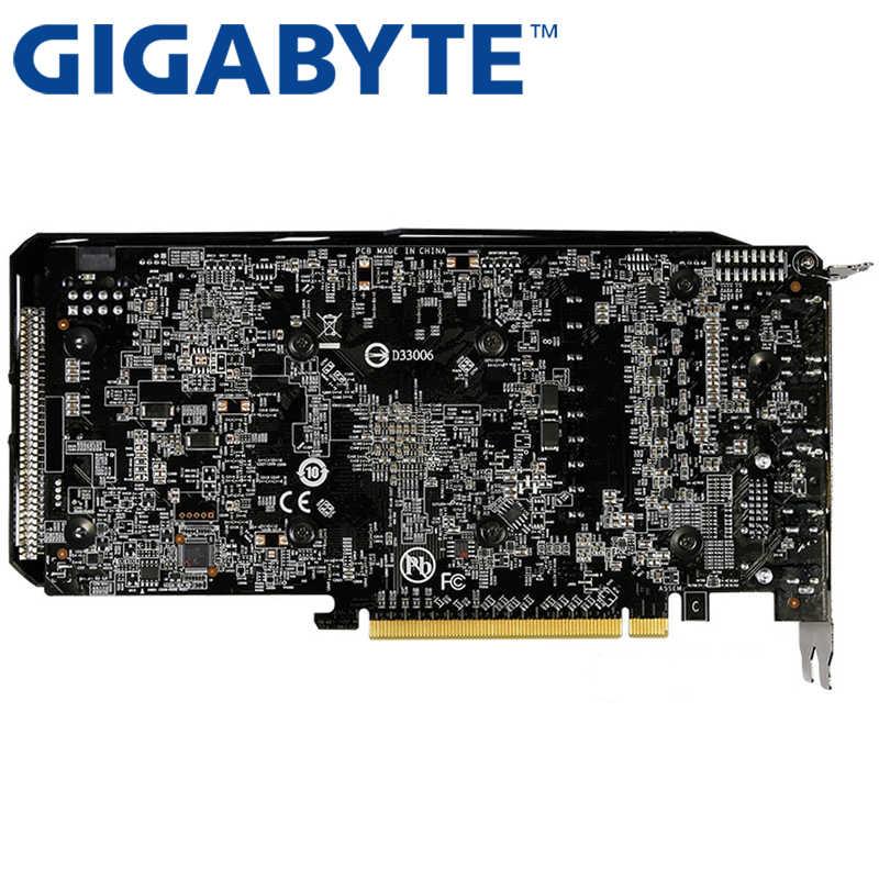 GIGABYTE וידאו כרטיס RX 570 4GB 256Bit GDDR5 כרטיסים גרפיים עבור AMD RX 500 סדרת כרטיסי RX570 בשימוש 470 480 580 460 HDMI DVI