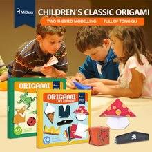 Mideer детские бумажные игрушки оригами ручной работы животные
