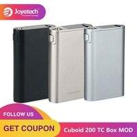 Original 200W Joyetech Cuboid 200 TC Box MOD Powered by 3x18650 Batteries Cuboid 200 TC MOD 200W VS Cuboid 150W Vaporizer