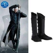 Мужские высокие ботинки manluyunxiao черный костюм из искусственной