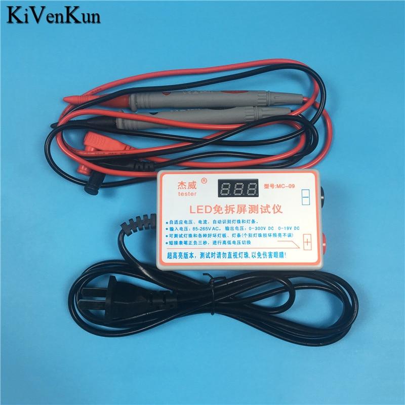 LED Tester 0-300V Output LED TV Backlight Tester Multipurpose LED Strips Beads Test Tool Measurem For Strip Repair Instruments