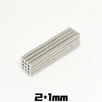 20/50/100/200Pcs/Lot Strong Rare Earth NdFeB Magnet 2mm x 1mm Neo Neodymium N35 Magnets 2*1 mm Craft Model Disc Sheet Fridge 2x1