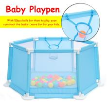 Baby Playpen Kids Safety Play Center Yard Home Indoor Outdoor Pen Fence [995-7047A]