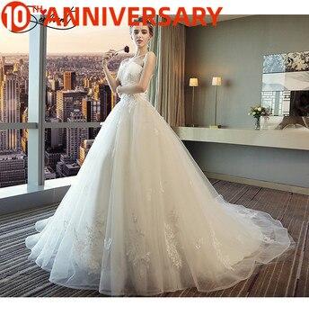 OllyMurs Princess Dream Embroidery Spring Bride Bract-shaped Strapless Sexy Elegant Long Railway Wedding Dress