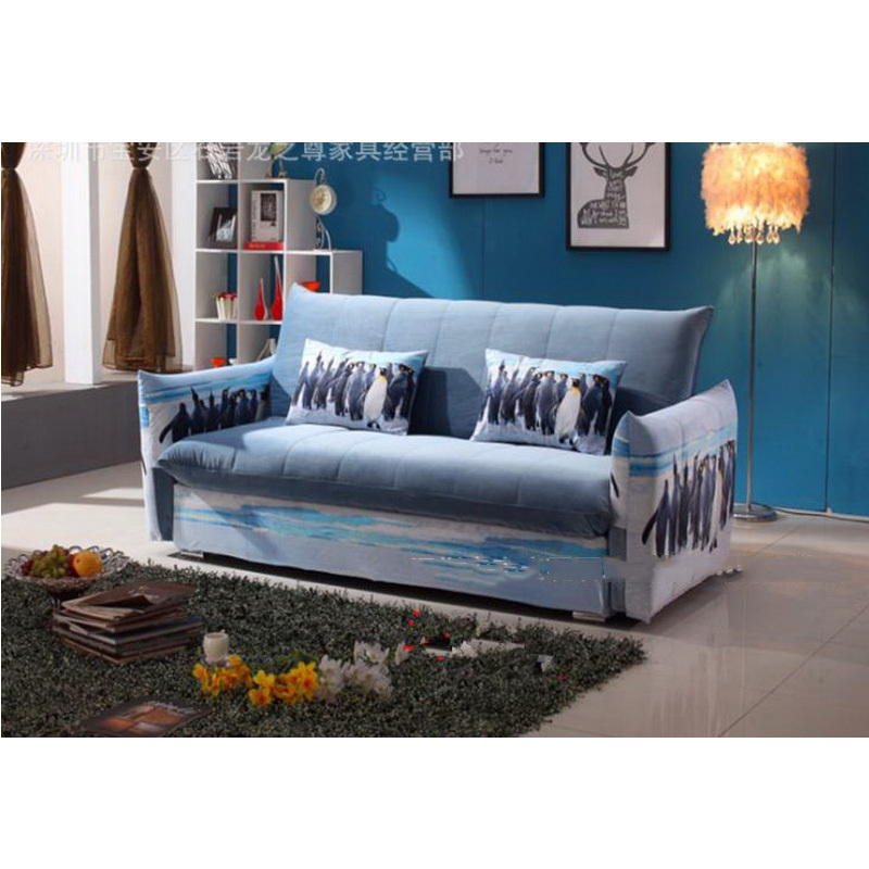 260321/1.5m/Foldable Sofa Bed/Lazy Living Room Leather Art Sofa Furniture/A Variety Of Styles/Home Multi-functional Sofa/