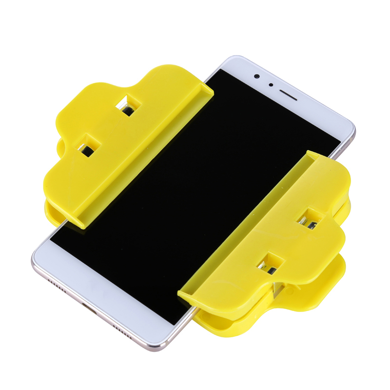 2pcs/lot Plastic Clip Fixture LCD Screen Fastening Clamp For Iphone Samsung iPad Tablet Mobile Phone Repair Tools Kit