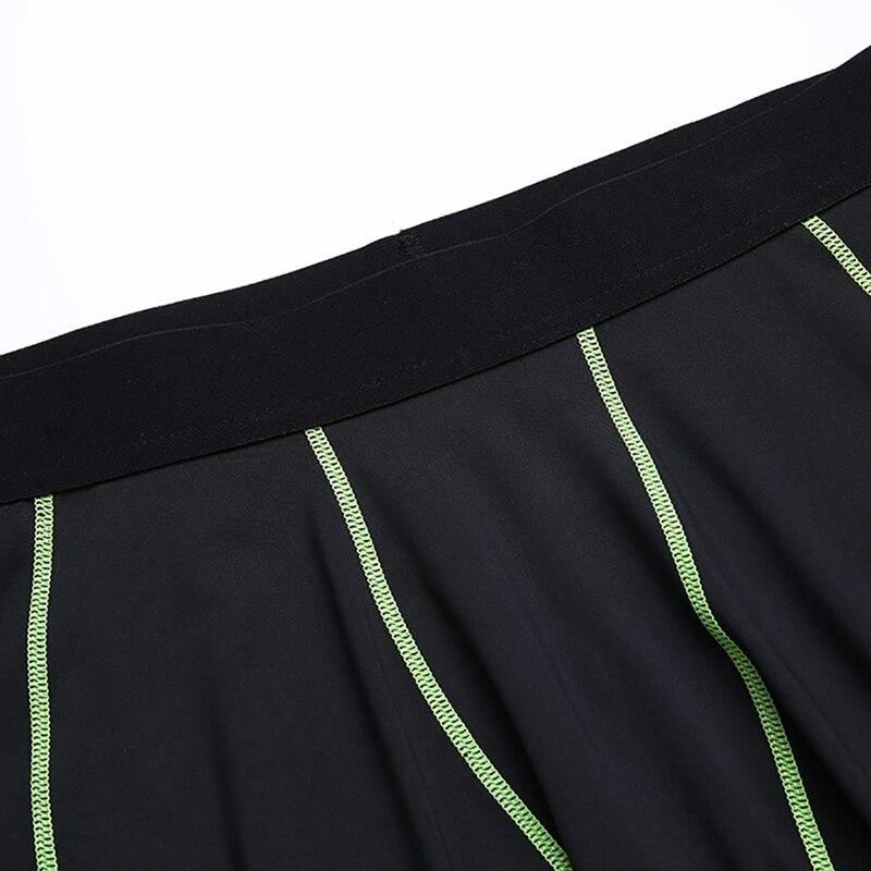 Мужская эластичная футболка для фитнеса, быстросохнущие топы, короткие штаны, спортивные лосины, костюм, майки, базовый слой, спортивная одежда, колготки, брюки