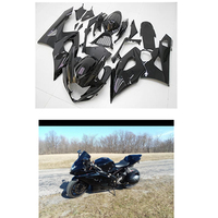 Glosy Black Injection Mold Fairing kits Fit For Suzuki 2005 2006 GSXR 1000 K5 05 06 GSX R1000 Aftermarket Painted ABS Plastic