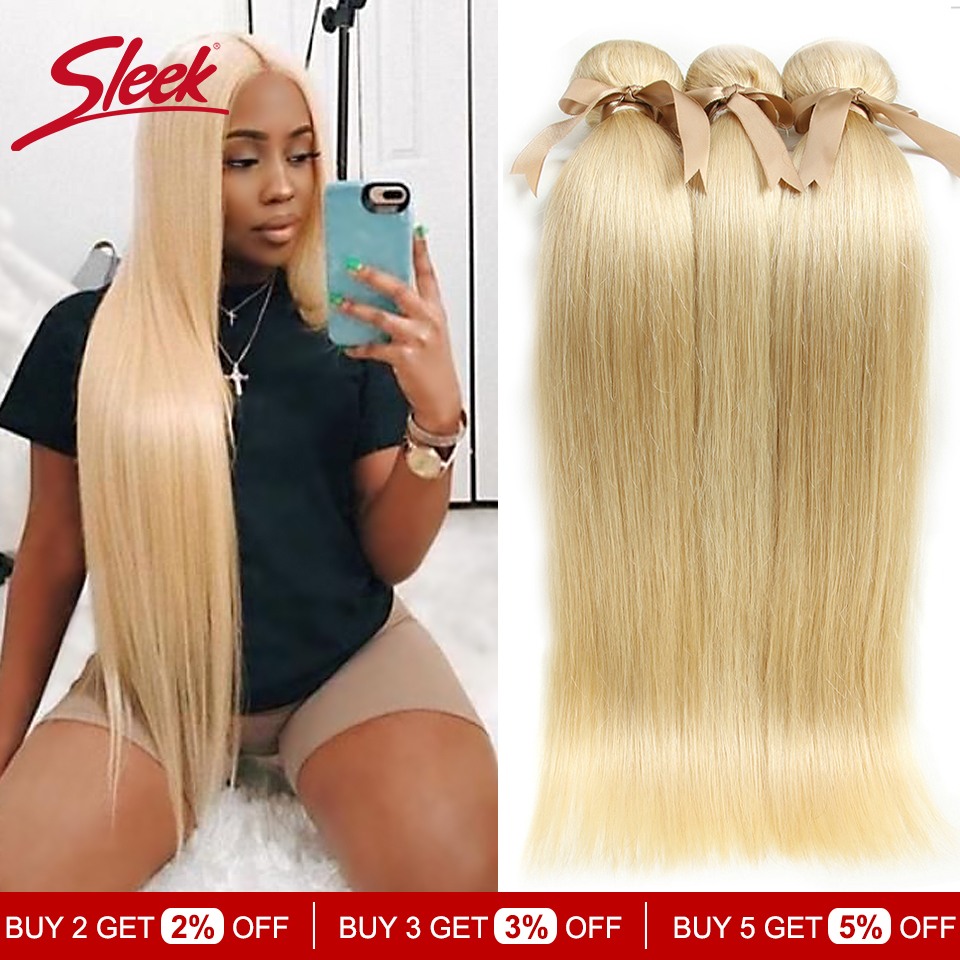 Elegante 613 mel loira pacotes de cabelo em linha reta cabelo brasileiro tecer pacotes 100% extensões de cabelo remy em linha reta 10 a 26 polegadas