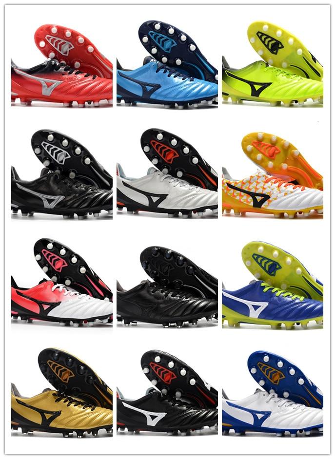Morelia II Made FG Wave Cup Legend 2019 Mens Classic NeoLow Cleats Outdoor Football Boots Chuteiras De Futebol