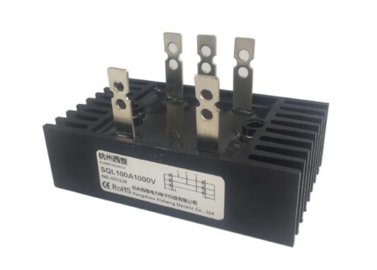 New 3 Phase Bridge Rectifier Metal Case 1000V Diode Bridge Rectifier SQL 100A