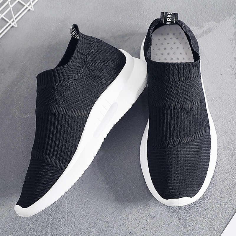 Black Socks Sneakers Women Casual