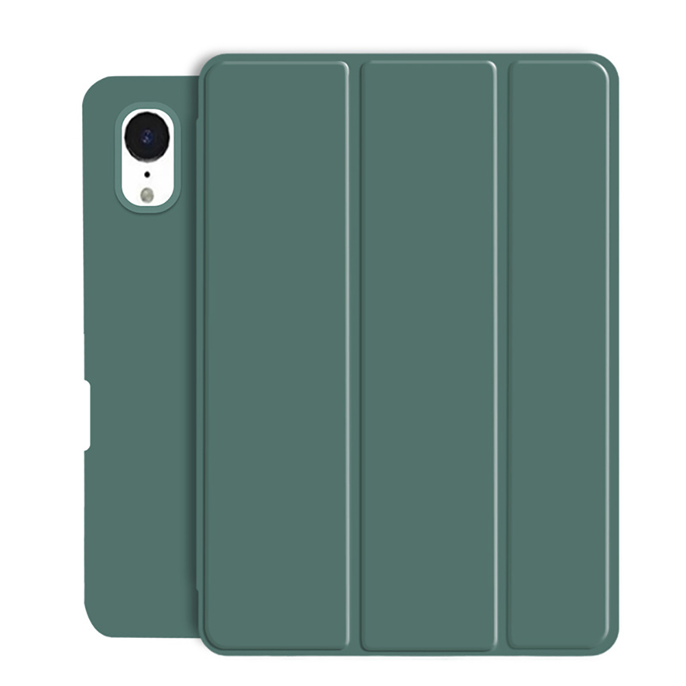 Dark Green Green Tablet Case For New iPad Air 4 10 9 2020 Soft Silicone Cover With Pencil Holder