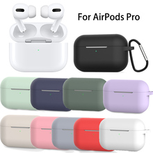 Silicone Case Protective Cover for Apple Airpods pro TWS Bluetooth Earphone soft Silicone Cover For Airpods Pro Cases Cover silicone case protective cover for apple airpods pro tws bluetooth earphone soft silicone cover for airpods protective cases