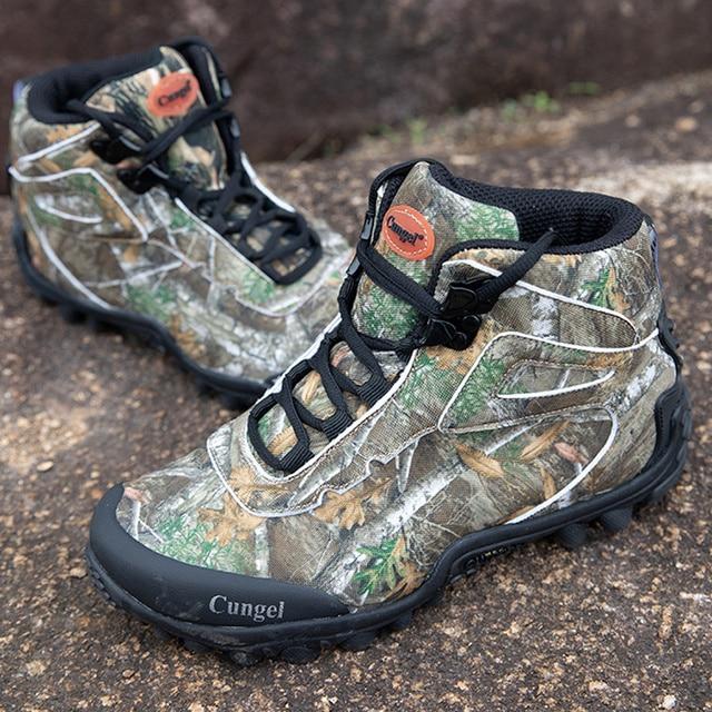 Winter Waterproof Tactical Boots Men Big Mountain Hiking Boots Outdoor Combat Shoes Trekking Sneakers Man Hiking Hunting Boots 2