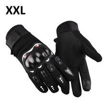 1 Pair Motorcycle Gloves Breathable Unisex Full Finger Glove Wearproof Outdoor Racing Sport Glove Motorbike Protective Gloves cheap Nylon Cotton Black Nylon + soft rubber shell Motocross Protective Gloves Fashionable Outdoor Racing Sport Glove Motorbike Gloves
