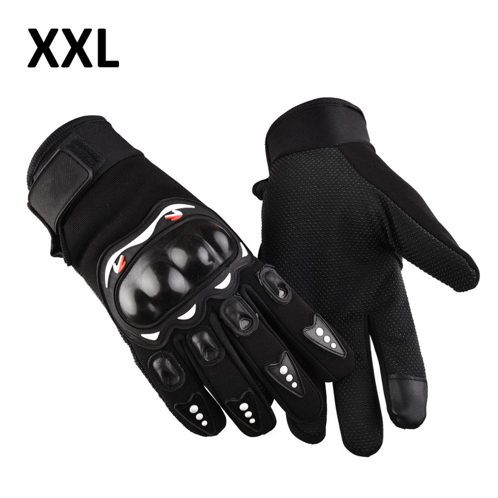 1 Pair Motorcycle Gloves Breathable Unisex Full Finger Glove Wearproof Outdoor Racing Sport Glove Motorbike Protective Gloves