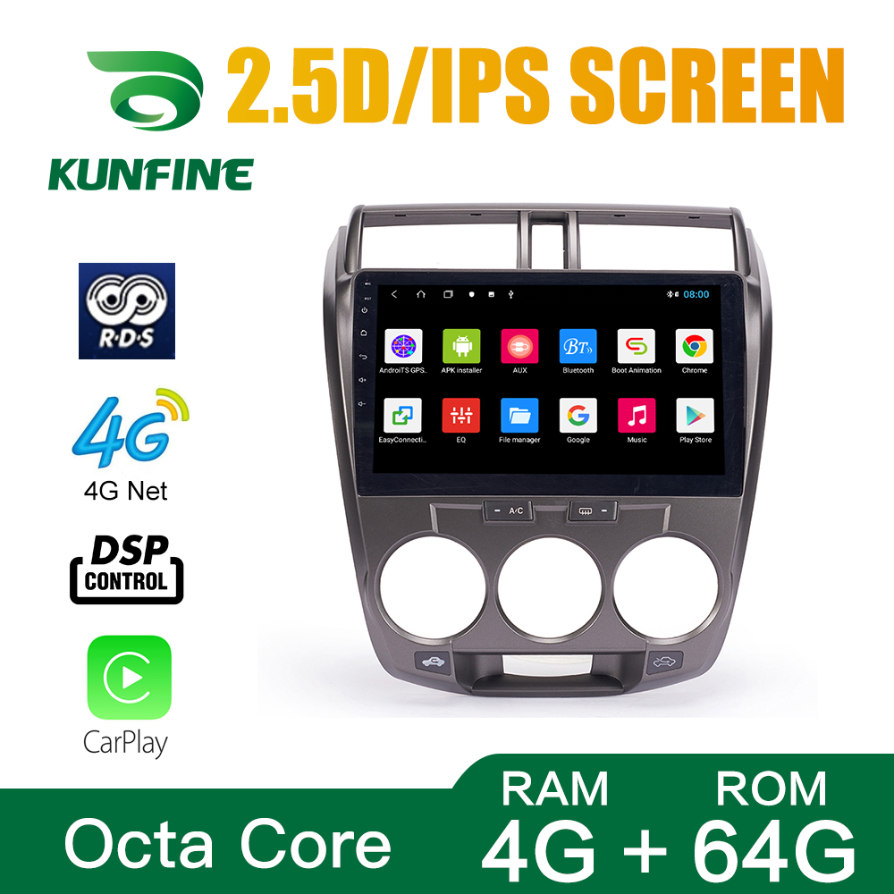 Android Car DVD GPS Navigation Multimedia Player Car Stereo For Honda city 2008-2014 Radio Headunit (16)