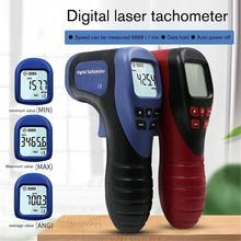 TL-900 Tachometer Digital LCD Tachometer Laser Non-Contact Tach Range 2.5-99999RPM Motor Speed Meter Tools digital tachometer rotational speed meter tach rpm tester motor lcd non contact photoelectric speedometer measuring 2 5 99999rpm