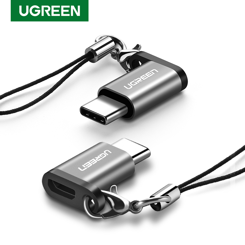Ugreen USB C OTG Adapter Type C To Micro USB Charger Cable Converter For Macbook Pro Samsung Galaxy S10 S9 Huawei Type-C USB OTG