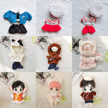 Doll-Clothes Outfit Plush Kpop Sweater Accessories for 20cm Idol Stuffed Toy Korea EXO