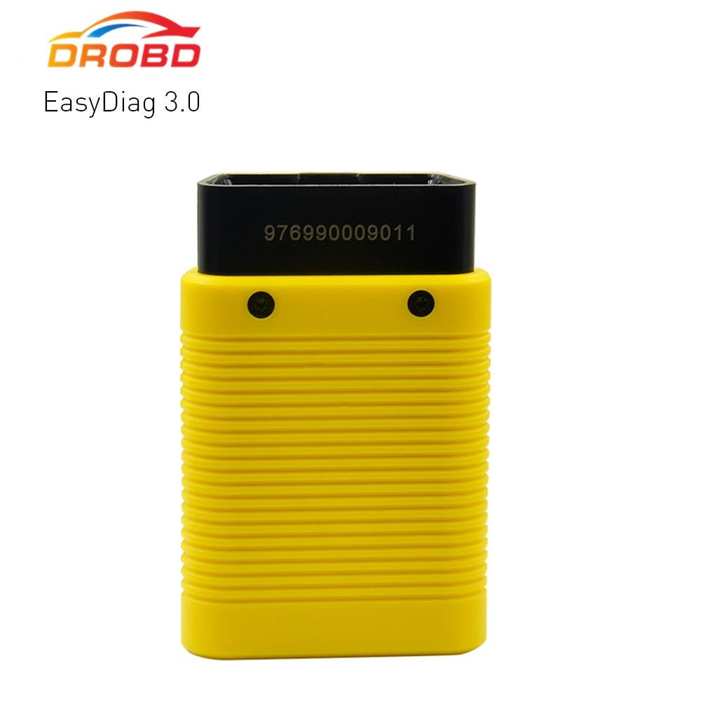 Оригинальный Запуск диагностики 3,0 OBD2 сканер диагностический инструмент для Android OBDII bluetooth сканер лучше, чем Easydiag 2,0