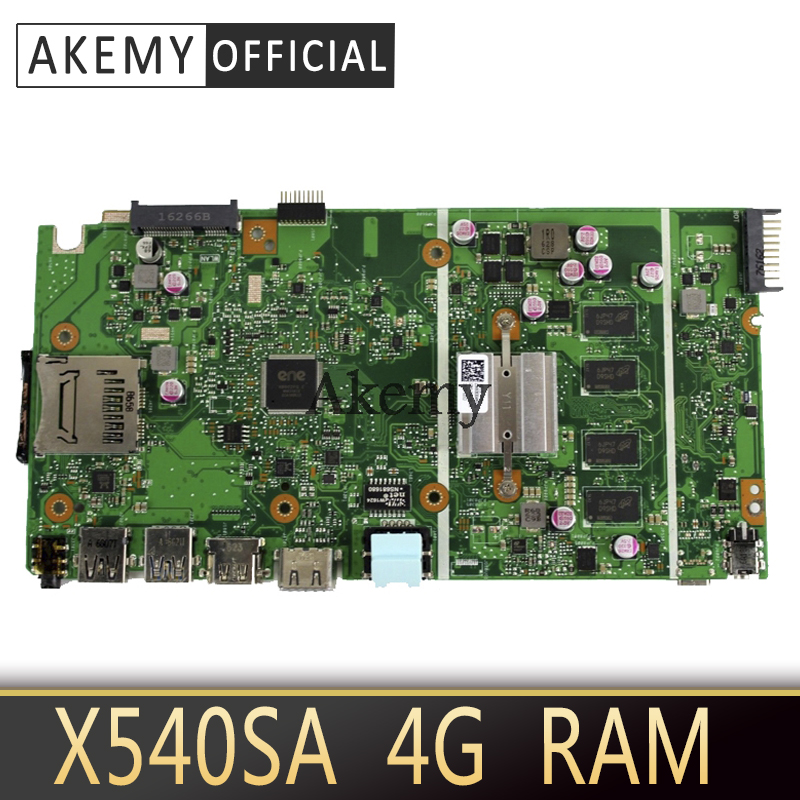 NEW X540SA laptop mainboard 4GB-RAM N3150/3160 CPU REV 2.0 For <font><b>ASUS</b></font> <font><b>X540</b></font> X540S X540SA X540SAA laptop <font><b>motherboard</b></font> Test ok image
