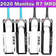 "1420g Manitou R7 MRD Bicycle gas fork mountain bike 26 inch 27.5"" manual remote control lock 100mm travel suspension fork 2018"
