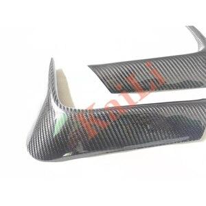 Image 5 - 1 ペア車のリアバンパーリップスプリッタディフューザー低コーナーカバートリム bmw F80 M3 F82 F83 M4 2015 2018 リアルカーボン