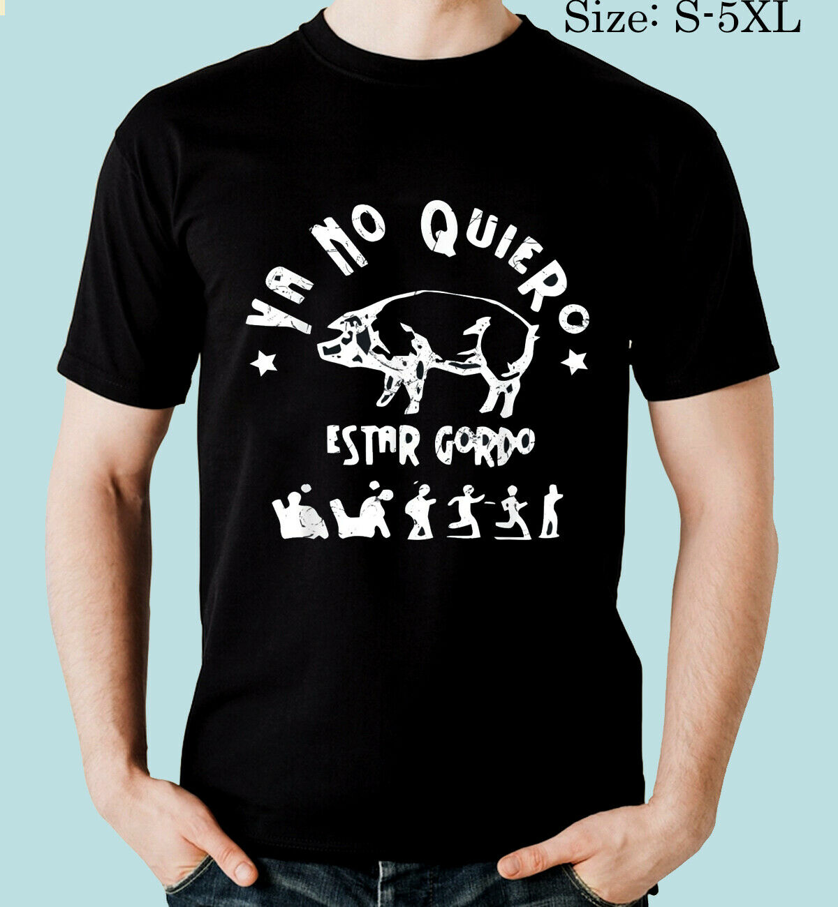 Ya No Quiero Estar Gordo T-Shirt