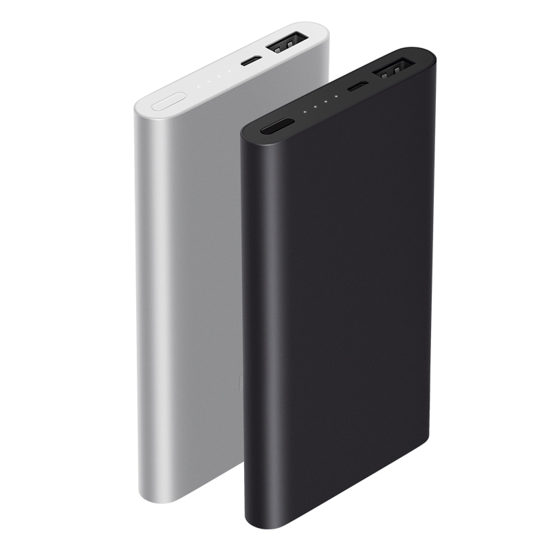 Image 2 - Original Xiaomi Mi Power Bank 2 10000 mAh External Battery portable charginQuick Charge 10000mAh Powerbank Supports 18W Charging-in Power Bank from Cellphones & Telecommunications