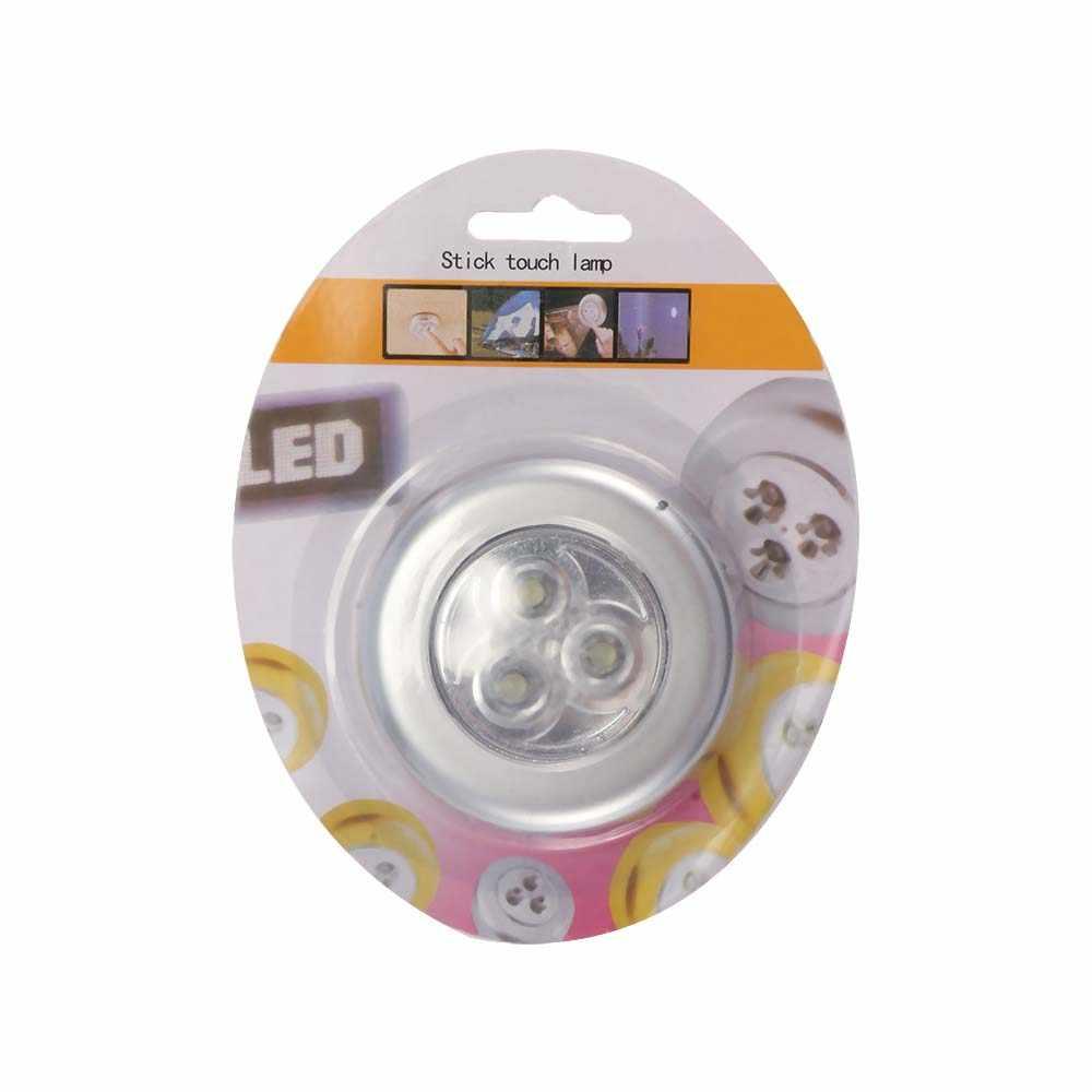 LED ห้องครัวห้องนอนตู้เสื้อผ้าตู้ไร้สายแม่เหล็กทางเดินบันไดโคมไฟกลางคืนตกแต่ง