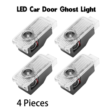 Car Door Ghost Light Auto Logo Emblem Laser Projector LED Welcome Lamp Courtesy Luces for Audi Q3 Q5 Q7 TT A3 A4 A5 A6 A8 A7 R8 8kd947411 4fd947411 oem car door panel interior warning light lamp for a7 a8 q3 q5 q7 tt a3 s3 a6 s6 a4 s4 rs3 rs4 a7 rs7