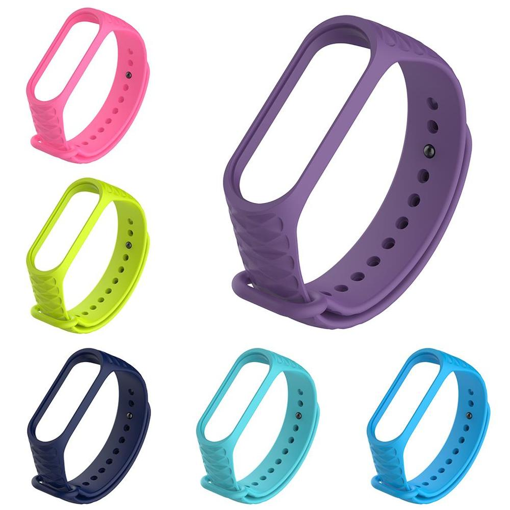 TOP SALE Silicone Watch Brand Watch Strap Bracelet For Watches High Quality For Xiaomi Mi Band 3