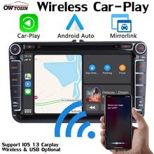 PX6 4G + 64G Android 9.0 Auto Dvd Gps Raido Voor Vw Skoda Seat Bora Jetta Golf Plus passat Cc Touran Tiguan Sharan Polo Dsp Carplay(China)