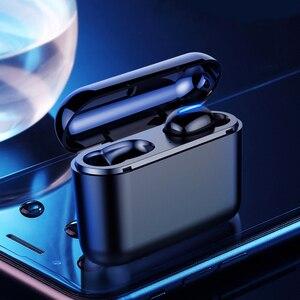 Image 3 - Verdadeiro bluetooth 5.0 fone de ouvido hbq tws sem fio headphons esporte handsfree fones 3d estéreo gaming fone com microfone caixa carregamento