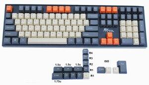 Image 4 - 124 key Spanish Layout European ANSI ISO ES OEM PBT Keycaps for Cherry MX Switches of Mechanical Keyboard Free Shipping