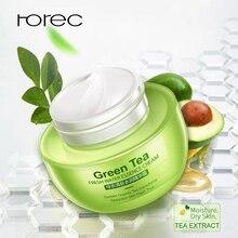 ROREC Green Tea Acne Cream Anti-Acne Hyaluronic acid Whitening Face Remover Blackhead Treatment Oil Control Skin Care