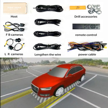 Model-Color Customization Bird's-Eye-View-System Panoramic-Image 3D Ce Assistance Driving