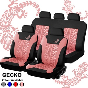 Image 5 - 4/9PCS/Set Seat Car Covers Universal Interior Accessories For Cars Truck Detachable Headrests Bench Seat Covers For Women Auto