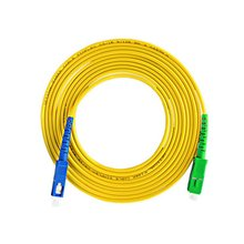 Разъем SC/UPC-разъем SC/АРС-см-3.0 мм шлямбур волокна одиночного режима одиночный сердечник APC разъем оптического кабеля, патч-корд волоконно-перемычки