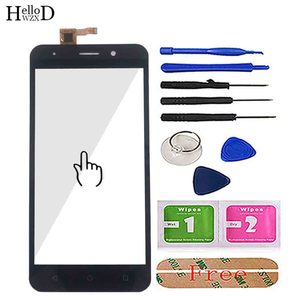 Image 2 - Mobile Touch Screen Front Glass For Inoi 2 / Inoi 2 Lite Digitizer Panel Touch Screen TouchScreen Tools 3M Glue Wipes