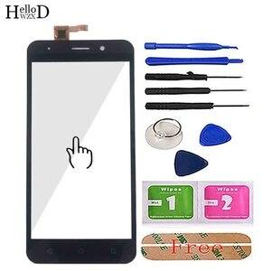 Image 2 - Mobile di Tocco di Vetro Dello Schermo Anteriore per Inoi 2/Inoi 2 Lite Digitizer Pannello di Tocco Touchscreen Dello Schermo Strumenti di 3M colla Salviette