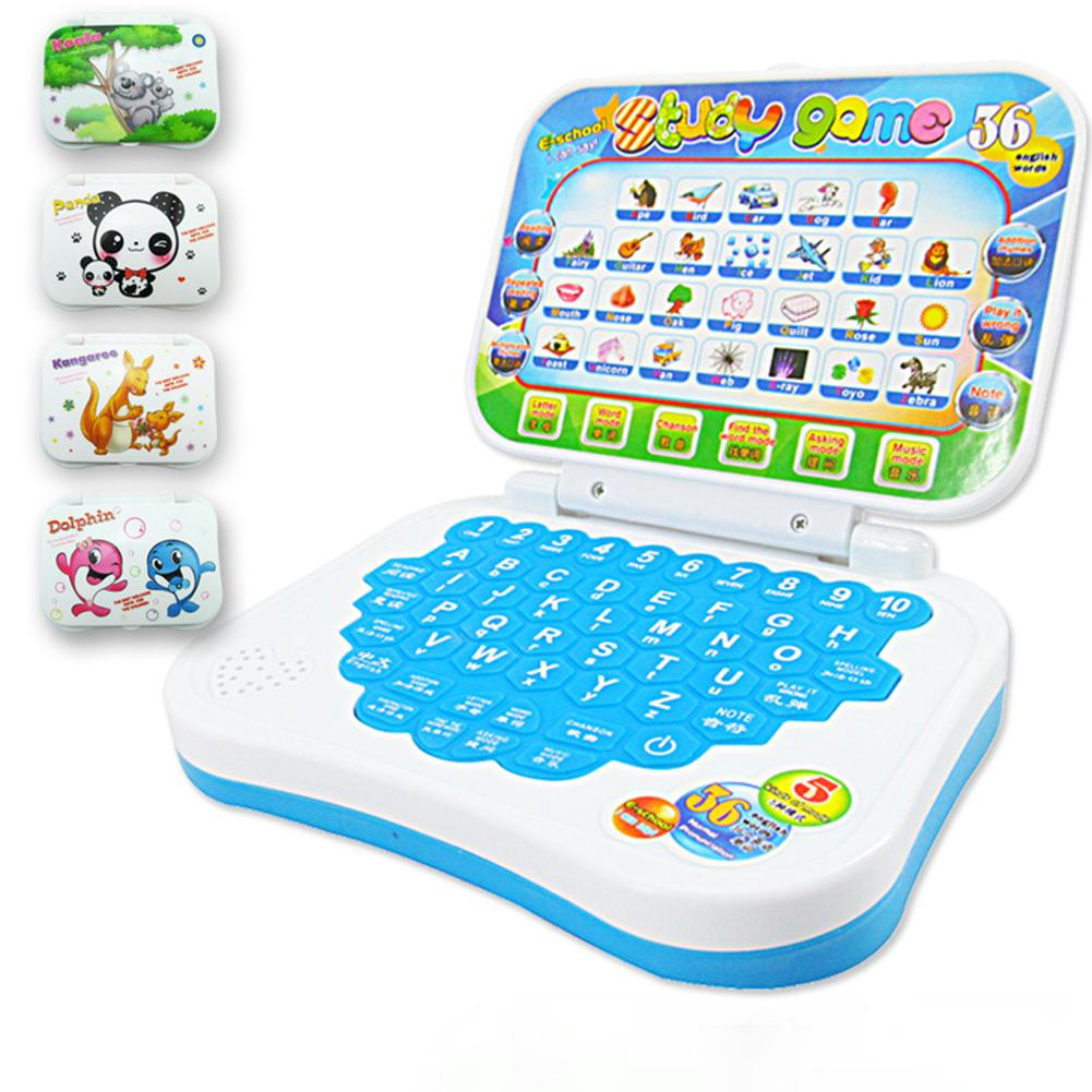 RCtown Multifunction Language Learning Machine Kids Laptop Toy Early Educational Computer Tablet Reading Machine image