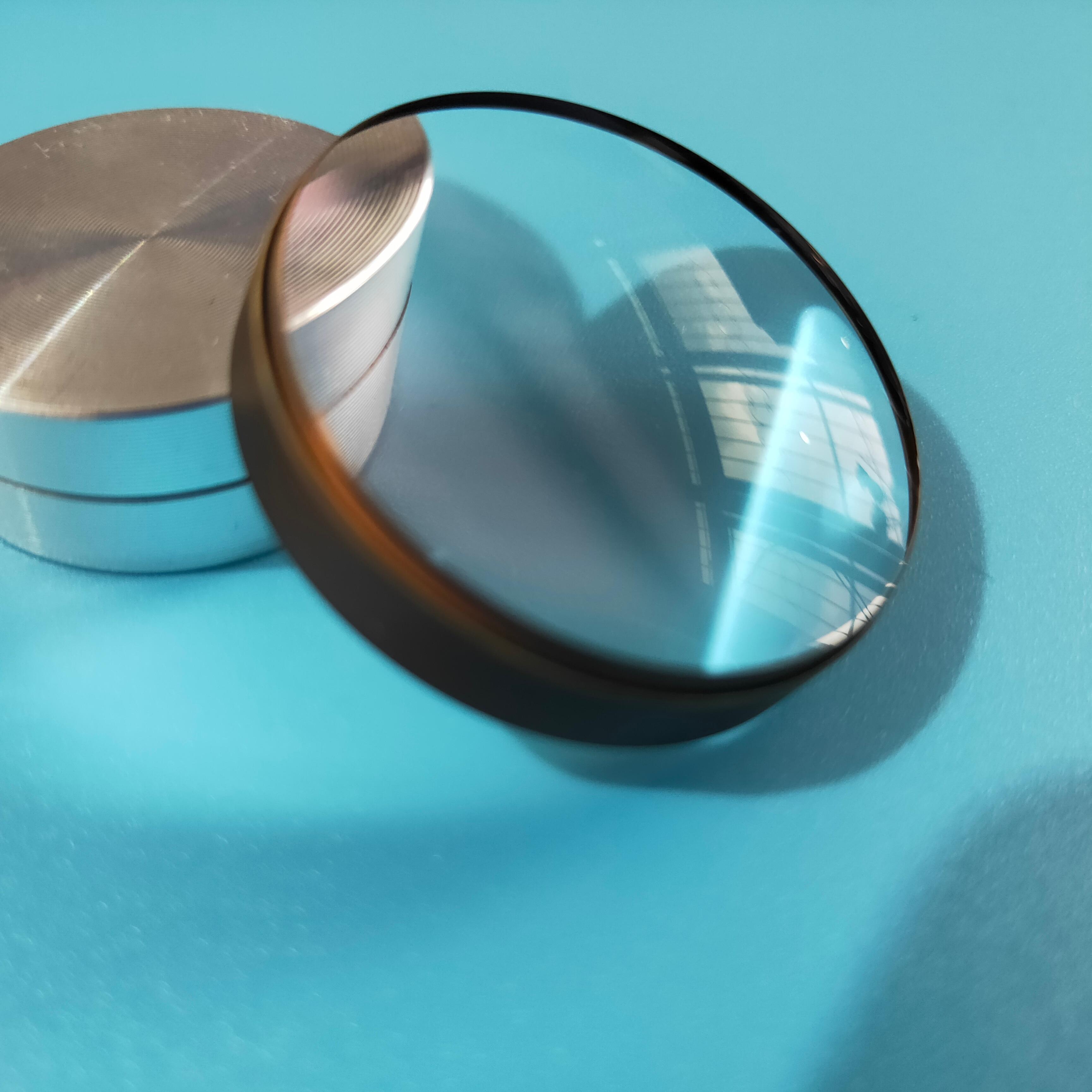 Glued Lens Achromatic 35mm Diameter, Focal Length 110mm Manufacturers Supply Processing Custom Optical Glass