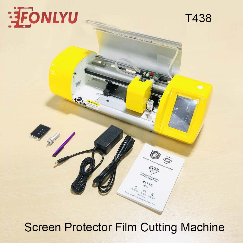 Fonlyu Flexible Hydrogel Film Screen Protector Cutting Machine For Phone Watch Airpods Camera Tablet Front Glass Film