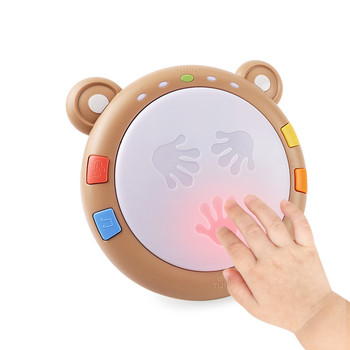 Tumama baby Hand Clap Drum Music Toys Early Educational Baby Intelligence Drum Learning Musical Toys Gifts For Babys